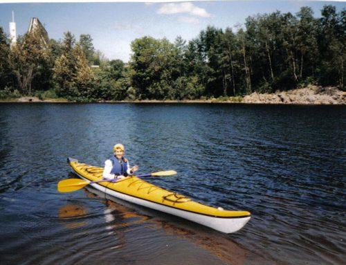 1996 à 2000 – Kayak de mer