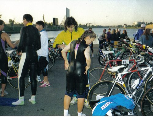 1992 à 1996 – Triathlon