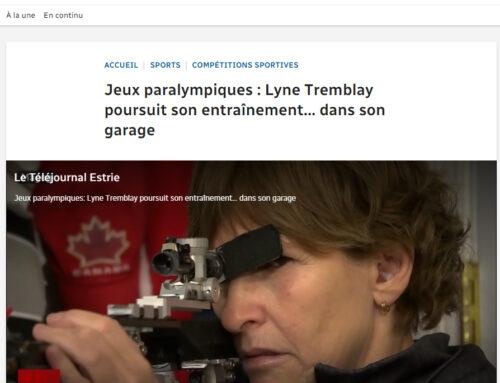 Jeux paralympiques : Lyne Tremblay poursuit son entraînement… dans son garage